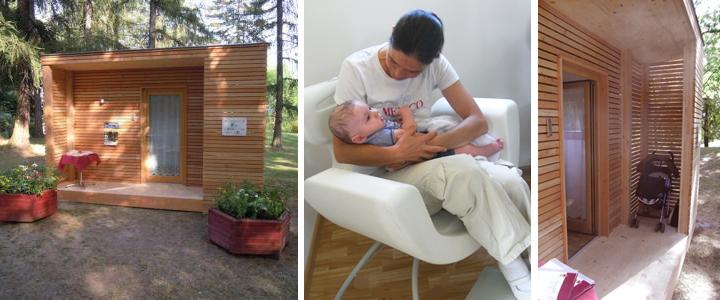 baby-little-home-casetta-legno-allattamento-cavalese-parco-leura